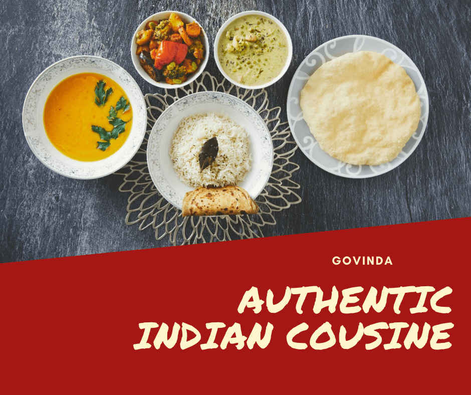 Govinda, Indian Restaurant, Indian Food, Vegetarian Food, Vegetarian Restaurant, Vegan Food, Vegan Restaurant